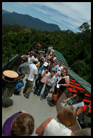 Tourists in the Blue Mountains