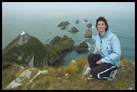 Eileen at Nugget Point