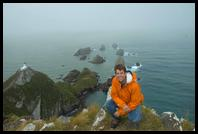 Matt at Nugget Point