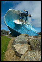 Giant Surfer