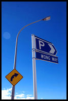 Wong Way in Te Anau