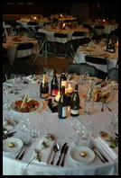 Tables at the Reception