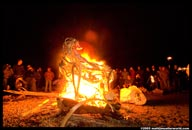 Burning Sheep Festivities