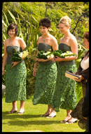 Bridesmaids: Kirsten, Kathy and terena