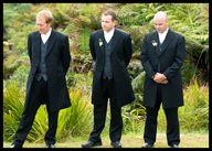 Groomsmen: Brenden, Darryn and Michael