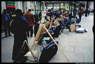 Street artists, Leicester Square