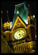 St. Pancras Clocktower at 3am