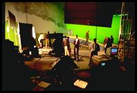 Greenscreen stage, Shepperton Studios