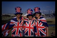 Brits in the Olympic Park