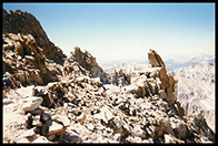 The west side of Mt. Muir, looking away from Whitney