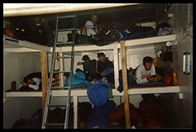 The Bunks inside Camp Muir
