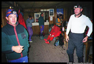 Inside the Cotopaxi hut