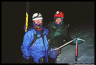 John and Marcio at our high point on Chimborazo - around 6,000 meters
