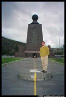 Matt on the equator